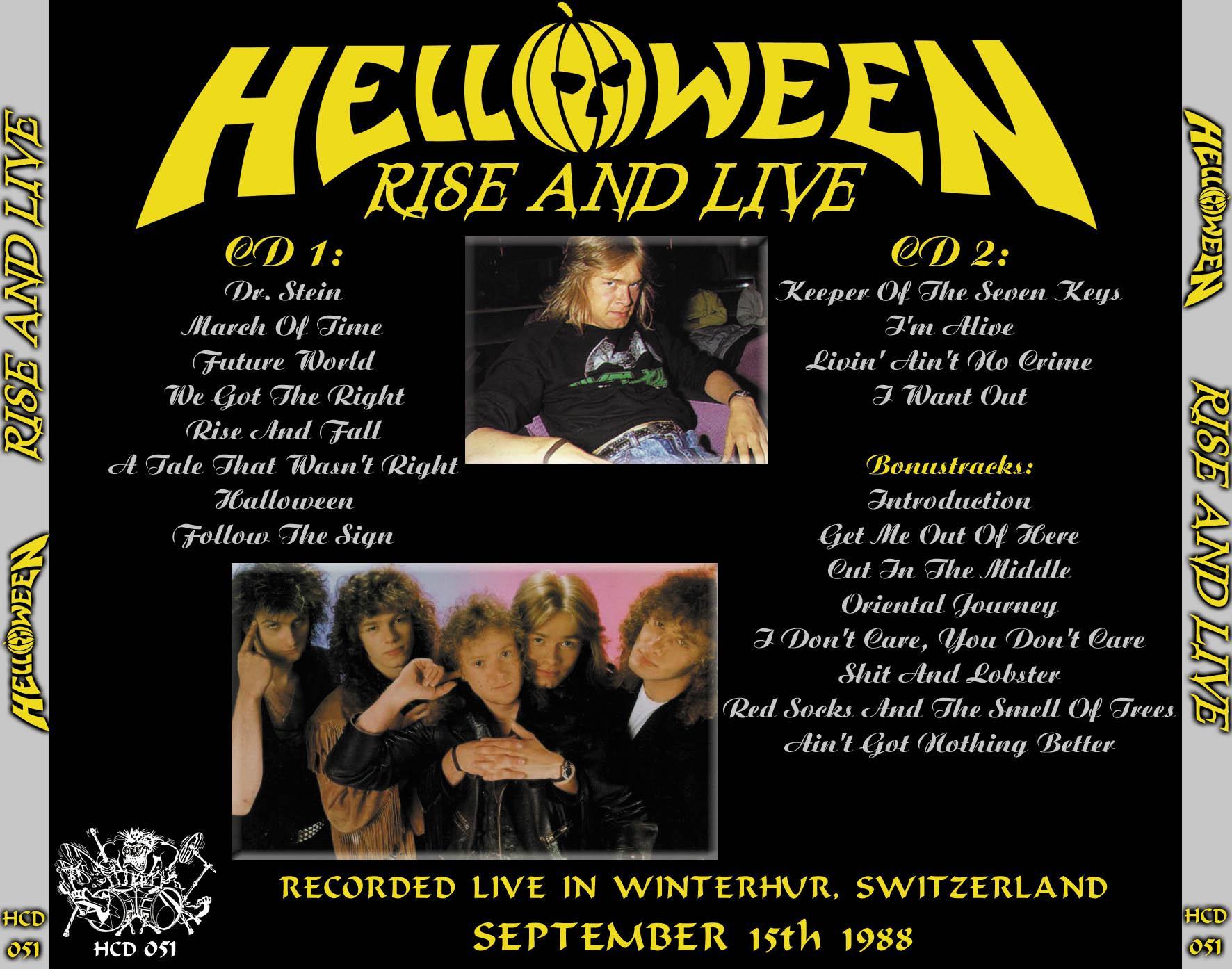 helloween live tour