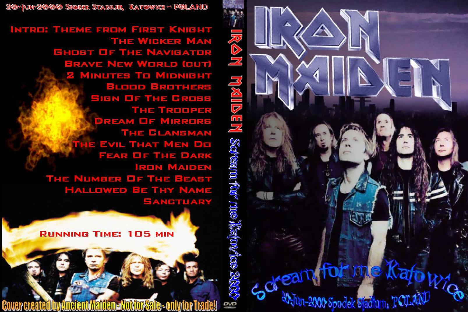 Iron Maiden Katowice – Held Bild Idee