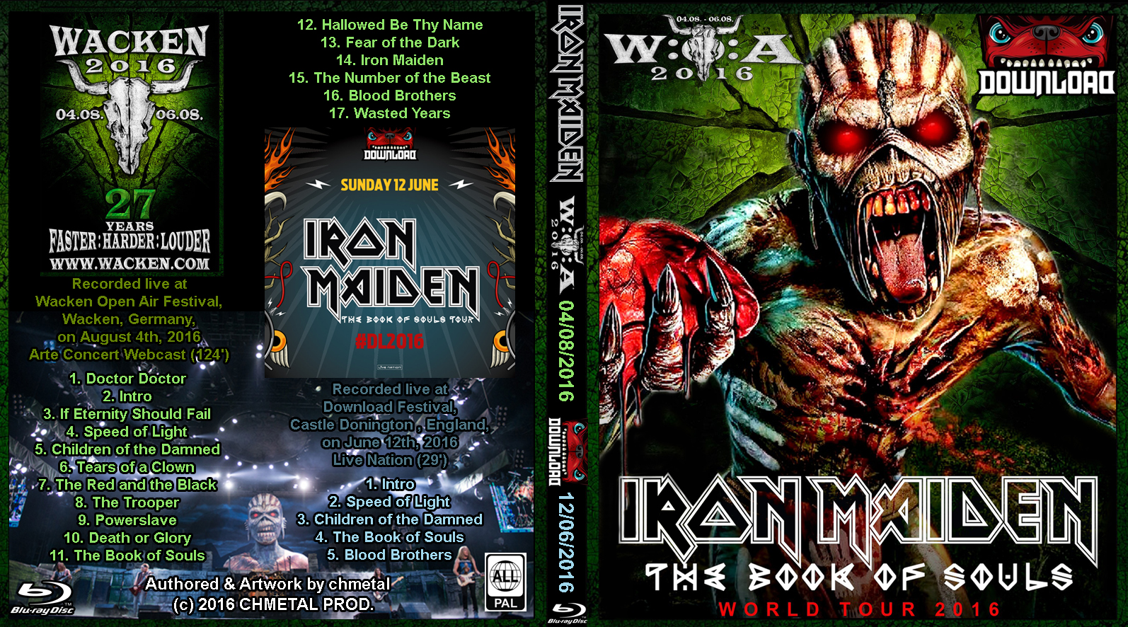 iron maiden book of souls live download