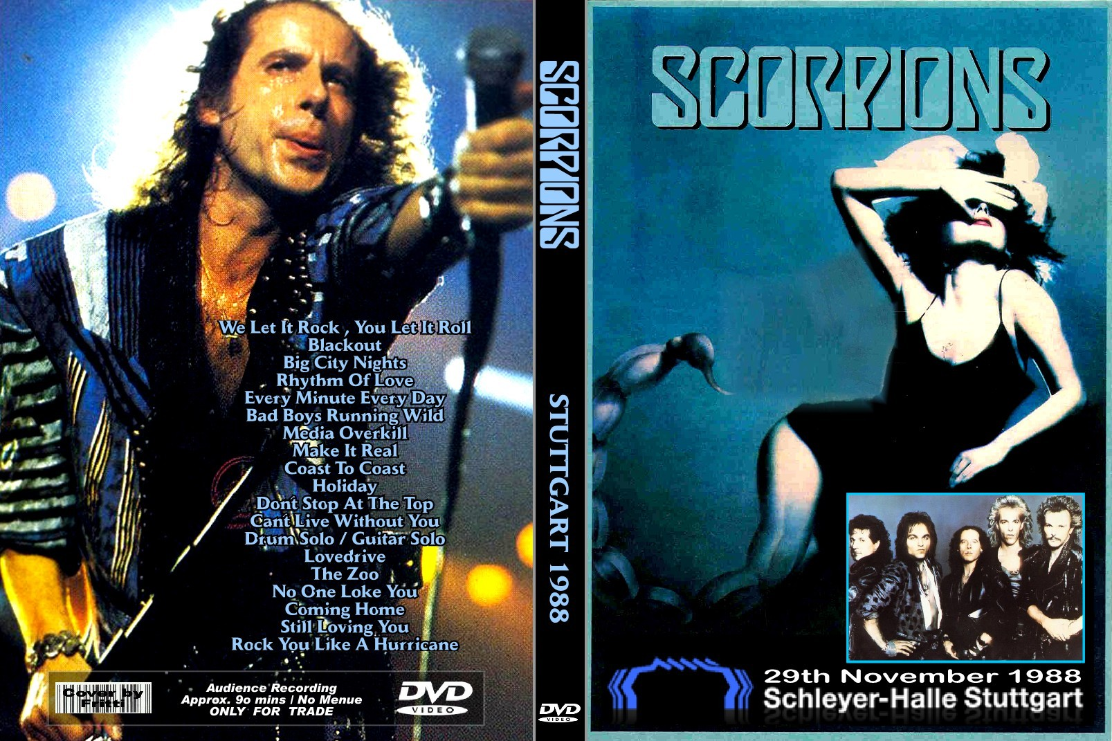 Scorpions - Savage Amusement (1988) Review - YouTube